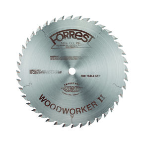 "WW10307125 Woodworker II Carbide Tipped Circular Saw Blade 10"" x 30 Tooth"
