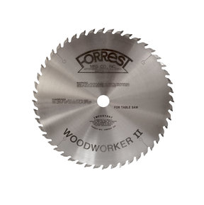 "WW12487125A Woodworker II Saw Blade, 12"" x 48T, .125"" Kerf x 5/8"" Bore, ATB"