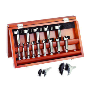 Forstner 16 Piece Bit Set
