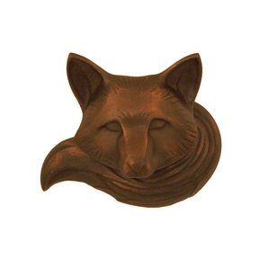Fox Door Knocker - Oiled Bronze