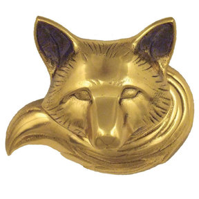 Fox Doorbell Ringer - Brass