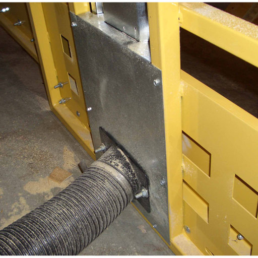 View a Larger Image of Frame Dust Collection for Saw Trax Panel Saw