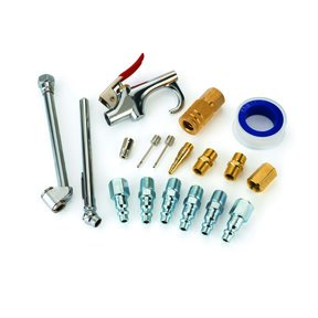 1/4-Inch 18-Piece Pneumatic Accessory Pack