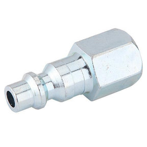 1/4-Inch Industrial Air Plug With Female 1/4-Inch NPT
