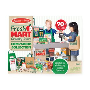 Fresh Mart Grocery Store Companion Collection, Play Sets & Kitchens, Multiple Role Play Items, Helps Develop Social Skil