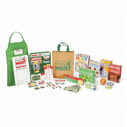 View a Larger Image of Fresh Mart Grocery Store Companion Collection, Play Sets & Kitchens, Multiple Role Play Items, Helps Develop Social Skil