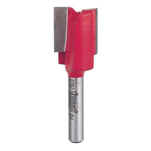 "View a Larger Image of 04-552 Double Flute Straight Router Bit Metric 1/4"" SH 20mm D 3/4"" CL"