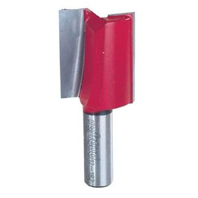 "12-182 Double Flute Straight Router Bit 1/2"" SH 1-1/4""D 1-1/2""CL"