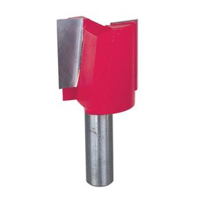 "12-186 Double Flute Straight Router Bit 1/2"" SH 1-3/8""D 1-1/4""CL"