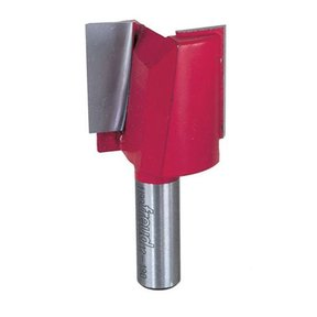 "12-190 Double Flute Straight Router Bit 1/2"" SH 1-1/2""D 1-1/4""CL"