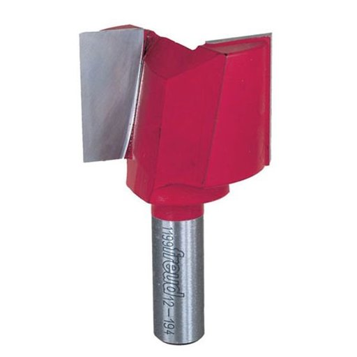"View a Larger Image of 12-194 Double Flute Straight Router Bit 1/2"" SH 1-3/4""D 1-1/4""CL"