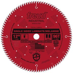 "12"" Full Kerf Single Sided Laminate Melamine Blade"