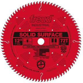 "12"" Full Kerf Solid Surface Blade"