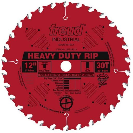 """View a Larger Image of 12"""" Heavy Duty Rip Blade"""