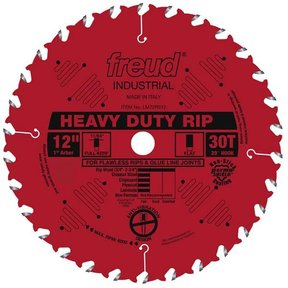 "12"" Heavy Duty Rip Blade"