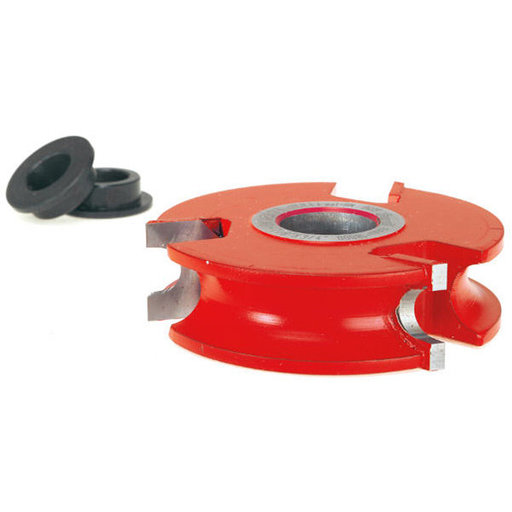 """View a Larger Image of 2-7/8"""" Dia. Concave Radius Cutter, Three Wing Shaper Cutter"""