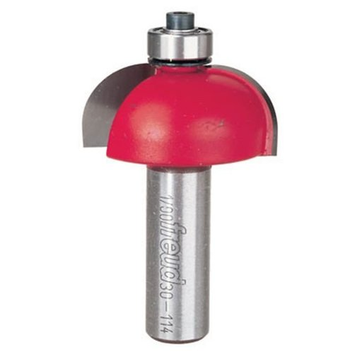 "View a Larger Image of 30-114 Cove Router Bit 1/2"" SH 1-1/2"" D 5/8"" CL 1/2"" R"