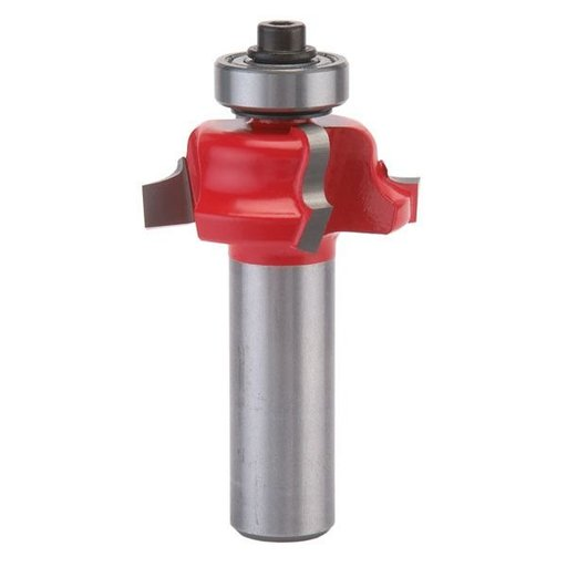"View a Larger Image of 38-104 Quadra-Cut Roman Ogee Router Bit 1-1/16"" Diameter 1/2"" Shank"