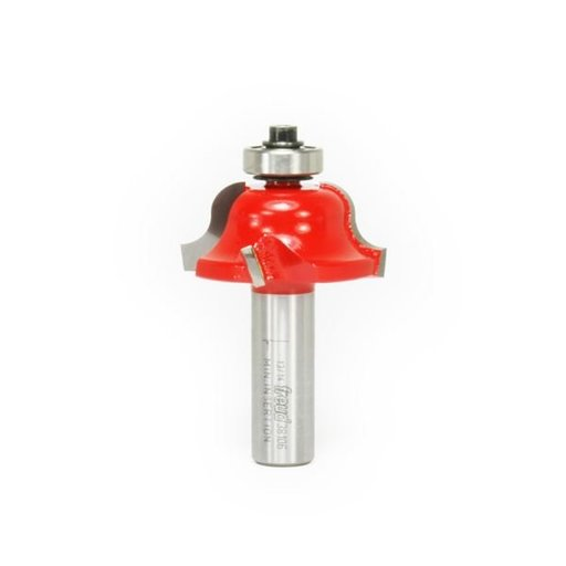 "View a Larger Image of 38-106 Quadra-Cut Roman Ogee Router Bit 1/4"" Radius 1-5/8"" Diameter 1/2"" Shank"