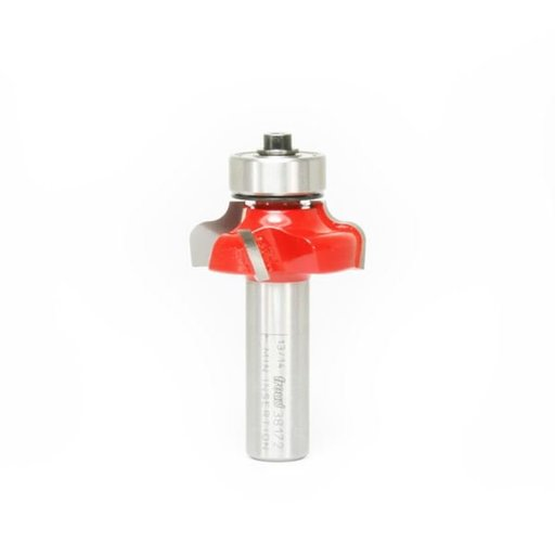 """View a Larger Image of 38-172 Ogee Fillet Router Bit 1-1/8"""" Diameter 1/2"""" Shank"""