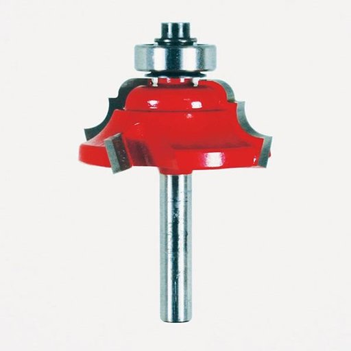 "View a Larger Image of 38-352 Quadra-Cut Classical Cove And Bead Router Bit 1/4"" SH 1-1/2"" D 5/8"" CL 1/4"" R"