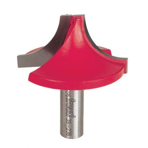 "View a Larger Image of 39-236 Ovolo Router Bit 1/2"" SH 2-1/4"" D 1-1/8"" CL 7/8"" R"