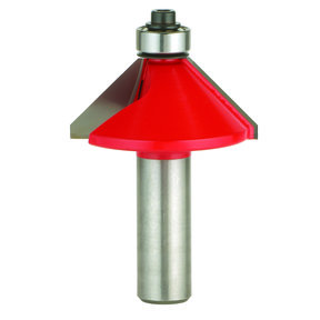 "40-100 Chamfer Router Bit 15 Degree 1/2""CL 1/4""SH"