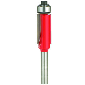 "42-110 Flush Trim Router Bit 1/2"" D X 1"" CL 1/2"" SH"