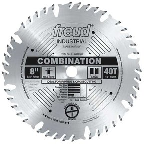 "8"" Full Kerf Combination Blade"