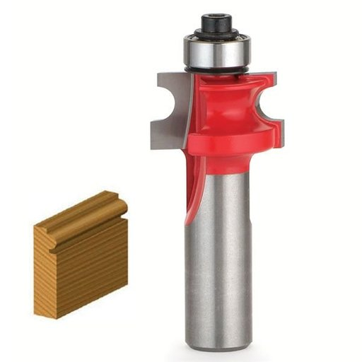 "View a Larger Image of 80-122 Traditional Beading Router Bit 1/8"" R 5/8"" D 5/8"" CL 1/2"" SH"