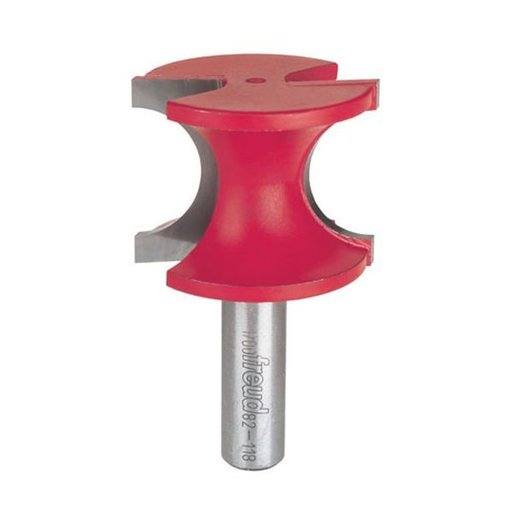 """View a Larger Image of 82-118 Half Round Router Bit 1/2"""" Shank 1/2"""" R 1-27/64"""" CL"""