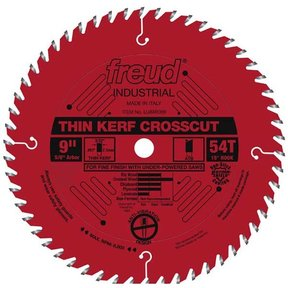 "9"" Thin Kerf Finish Crosscut Blade"