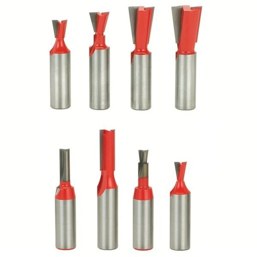 "View a Larger Image of 96-102 Incra Jig Router Router Bit Set 8-Piece 1/2"" SH"