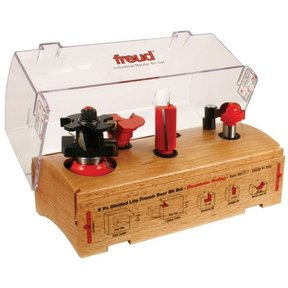 98-317 Five Piece French Door Router Router Bit Set Roundover