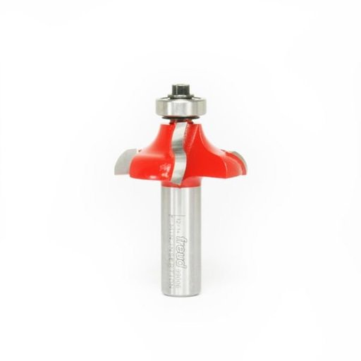"View a Larger Image of 99-006 Quadra-Cut Ogee Router Bit 1/2"" Shank 21/64"" R"