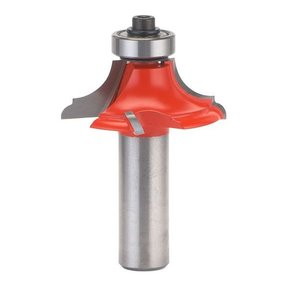"99-010 Quadra-Cut Classical Table Top Router Bit 1-1/2"" Diameter 1/2"" Shank"