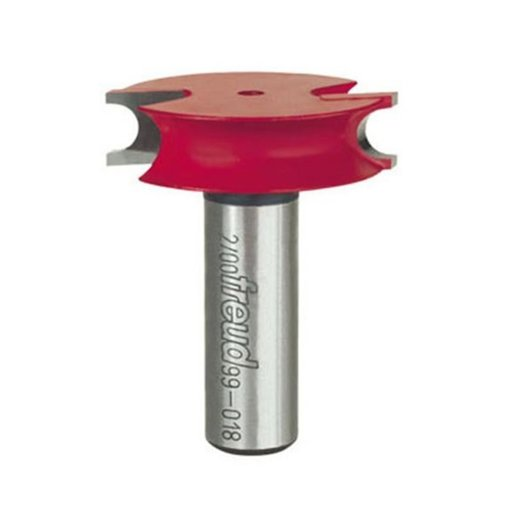 """View a Larger Image of 99-018 Canoe Joint Bead Router Bit 1/2"""" Shank 1/8"""" R"""