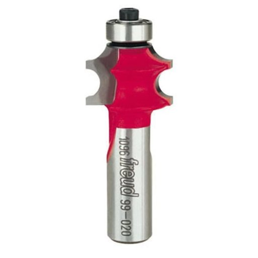 """View a Larger Image of 99-020 Corner Beading Router Bit 1/2"""" Shank 7/32"""" R"""
