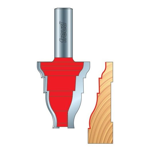 View a Larger Image of 99-466 Door Casing Molding Router Bit Style 366