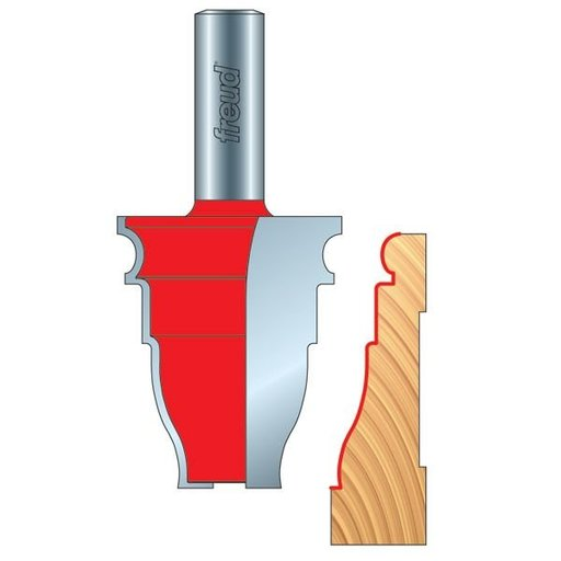 View a Larger Image of 99-467 Door Casing Molding Router Bit Style 376