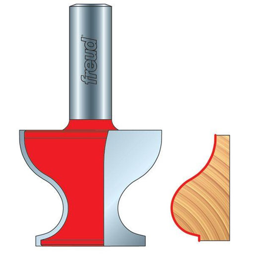 View a Larger Image of 99-482 Base Cap Router Bit Style 166