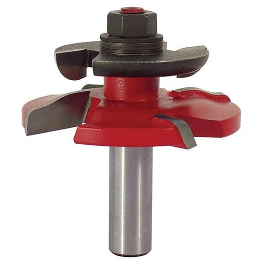 "View a Larger Image of 99-500 Quadra-Cut Mini Raised Panel Backcutter Router Bit Ogee 1/2"" Shank"