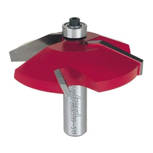 "View a Larger Image of 99-511 Quadra-Cut Raised Panel Router Bit Bevel 1/2"" Shank"