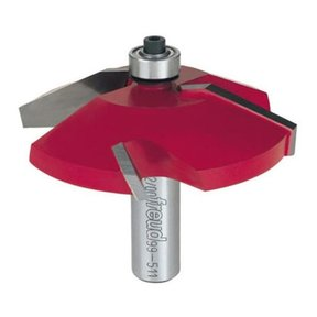 "99-511 Quadra-Cut Raised Panel Router Bit Bevel 1/2"" Shank"