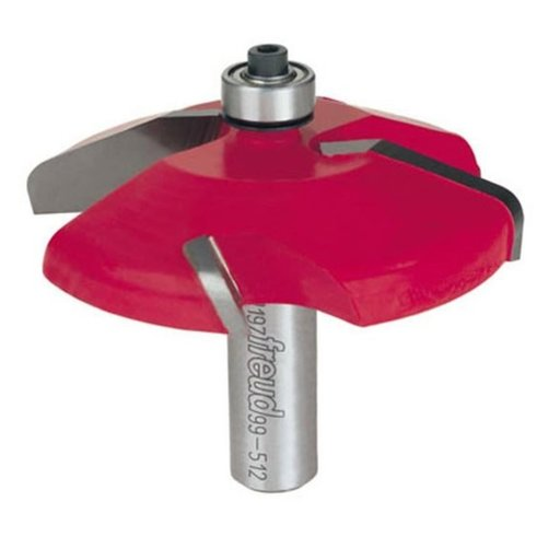 "View a Larger Image of 99-512 Quadra-Cut Raised Panel Router Bit Bevel 1/2"" Shank"