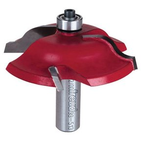"99-513 Quadra-Cut Raised Panel Router Bit Ogee 1/2"" Shank"