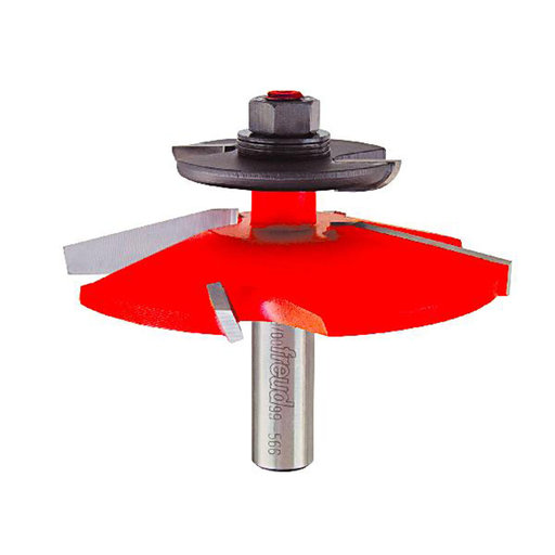 "View a Larger Image of Raised Panel Router Bit  with Back-Cutter ,1/2""SH"