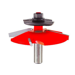 "Raised Panel Router Bit  with Back-Cutter ,1/2""SH"
