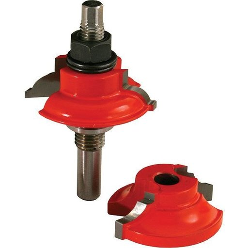 View a Larger Image of 99-863 Adjustable Tenon Double-Sided Door Cutter Bead Profile Router Bit