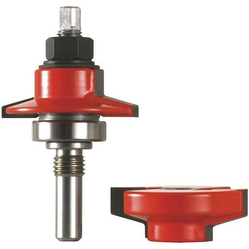 View a Larger Image of 99-864 Adjustable Tenon Double-Sided Door Cutter Bevel Profile Router Bit